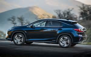 Lexus Rx Mpg 2016 Lexus Rx 450h Hybrid Unveiled At New York Auto Show