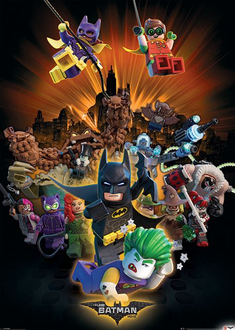 Plakat Lego by Lego Batman Boom Plak 225 T Obraz Na Zeď Posters Cz