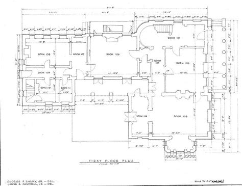 new orleans floor plans floor plans robert a grinnan house new orleans louisiana
