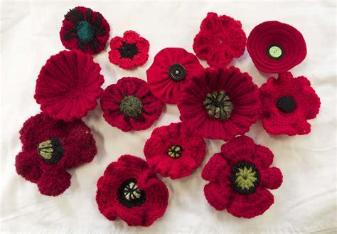 knitting pattern remembrance poppy november 2013 handknitters guild