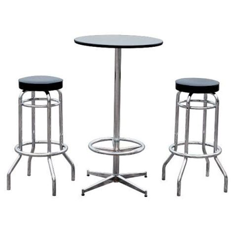 high table with stools 50 high table and stool set furniture bar image within