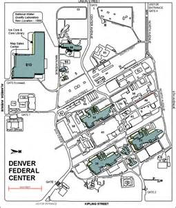 national center map of denver federal center