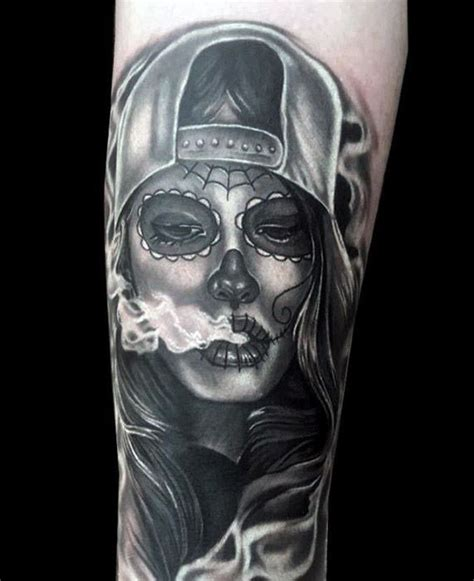 50 la catrina tattoo designs for men mexican ink ideas