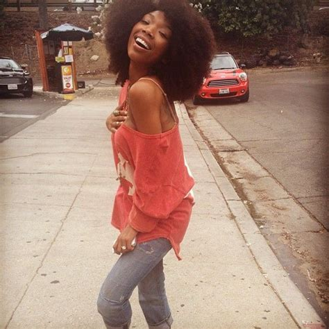 brandy loves natural hair but says as an actress she has 17 best images about brandy natural hair on pinterest