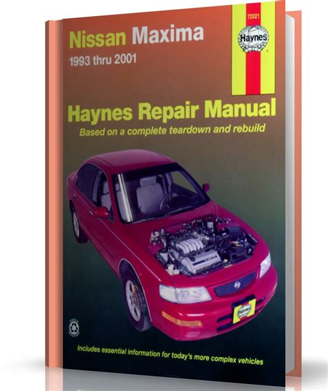 car manuals free online 2004 nissan maxima transmission control 2004 nissan maxima owners manual free nissan maxima 1993 thru 2004 haynes repair manuals