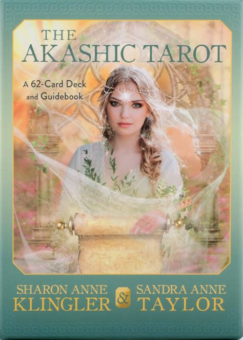 the akashic tarot a 62 card deck and guidebook klingler