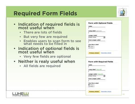 form design best practices web form design best practices