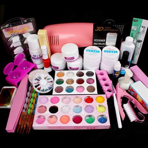 Nail Salon Supplies by Nail Salon Supplies Kit Tool With Uv L Uv Gel Nail