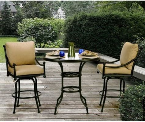 bar top patio furniture outdoor bar sets clearance 16 ways to increase beauty of