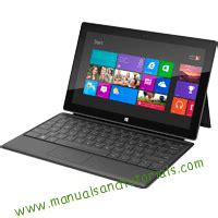microsoft surface rt manual and user guide pdf