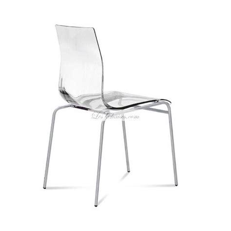 chaise de cuisine transparente chaise plastique design et chaises de cuisine plastique