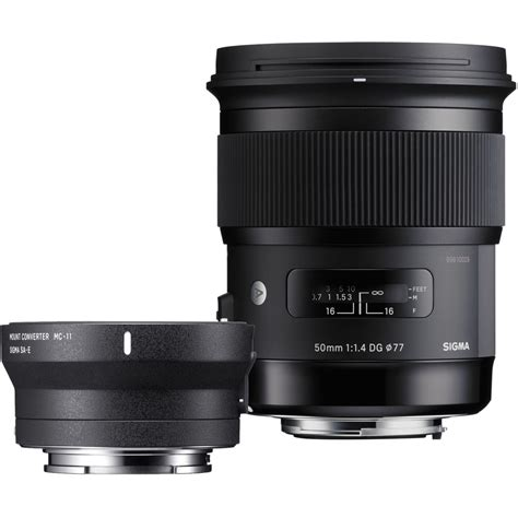 Sigma 50mm F 1 4 Dg Hsm sigma 50mm f 1 4 dg hsm lens for canon ef and mc 11 zi954