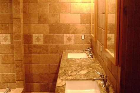 natural stone tile bathroom remodel addition in big trees arnold ca
