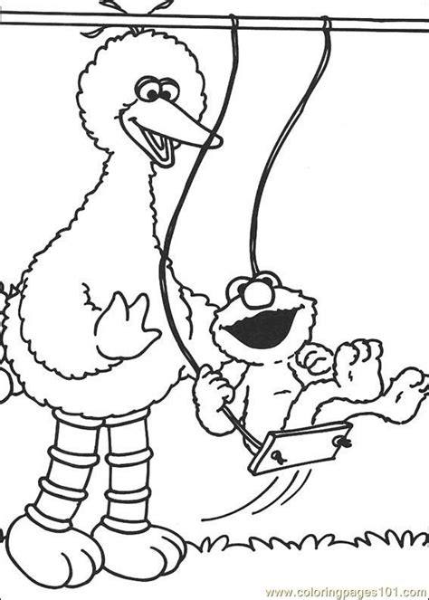 coloring pages sesame street 20 cartoons gt sesame street