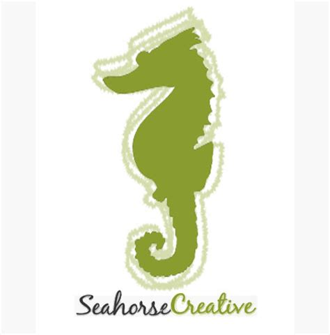 logo design yeppoon seahorse creative cooee bay graphic design