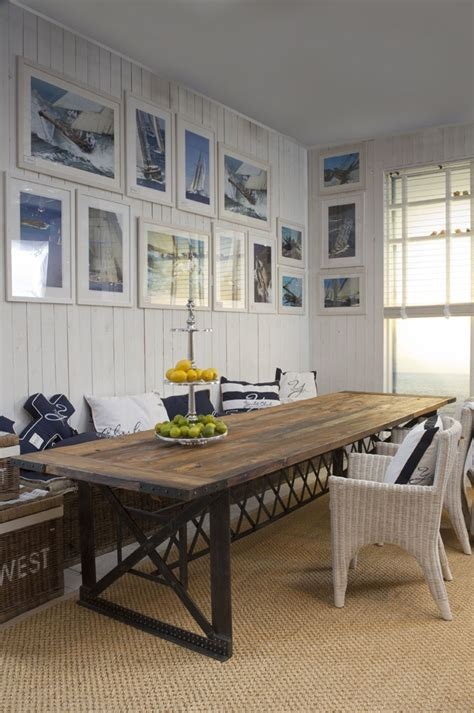 coastal kitchen table great room nautical breakfast nooks