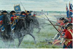 fontenoy 1745 cumberlands bloody 1472816250 french regiments of foot and artillery batteries at the battle of fontenoy frederick 2 the