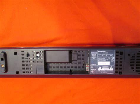 Soundbar Panasonic Schtb70 2 1 Channel Built In Subwoofer