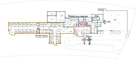 hospital floor plan proposed hospital floor plan power county hospital district