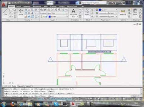Programa Para Desenhar Planta Baixa Com Medidas tutorial planta baixa com autocad cortes e fachada