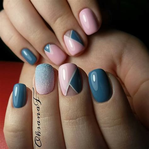 geometric pattern nail art 60 geometric nail art ideas nenuno creative