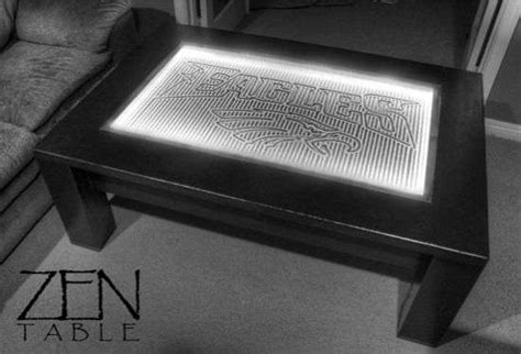 High Tech Serenity Gardens 3g Zen Coffee Table Zen Coffee Table