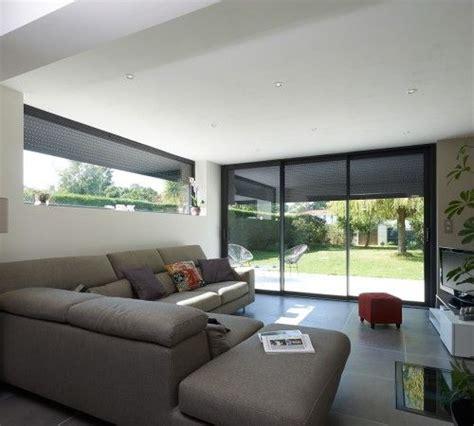 sas porte int rieur maison veranda toit plat affordable simple d int rieur extension