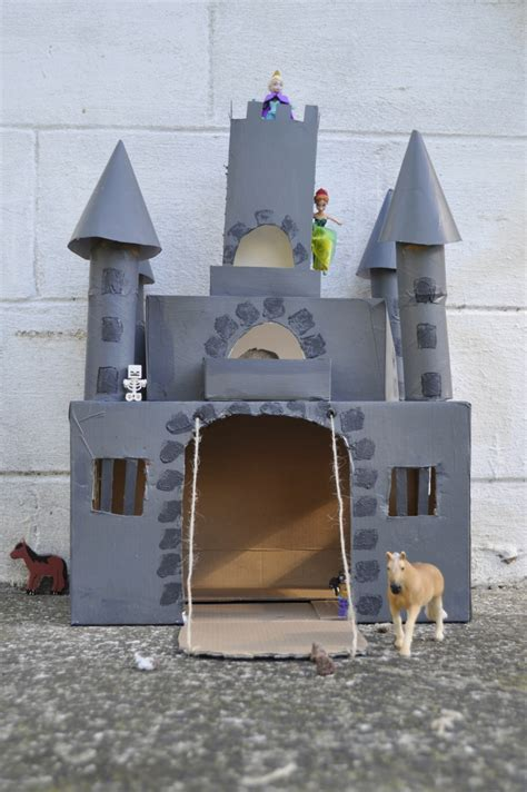 How To Make A Paper Castle - box castle be a