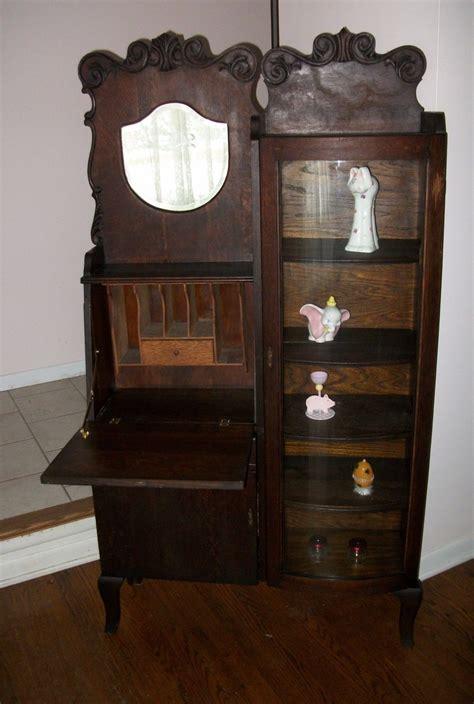antique desk with bookcase 15 photos antique desk with bookcases