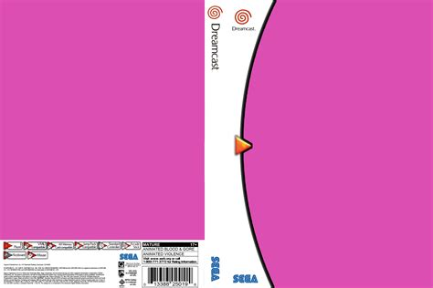 dvd slipcover template template dvd cover download sega dreamcast covers the