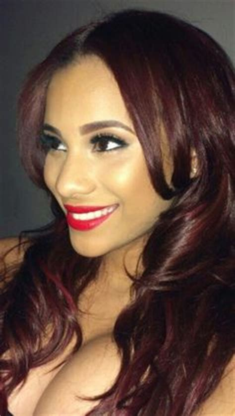 cyn santana burgundy hair 1000 images about cyn santana on pinterest erica mena
