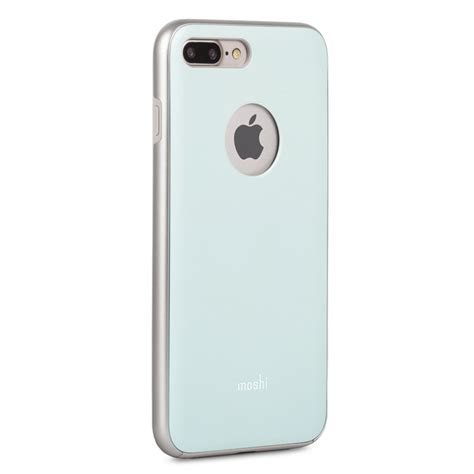 Moshi Iphone 7 Iglaze Powder Blue moshi iglaze iphone 8 plus 7 plus powder blue iphone