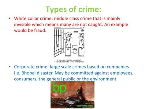 exle of white collar crime crime and deviance