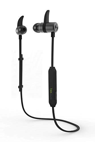 Polaroid Earphone Sports With Ear Tip Mic Stereo E078 Or biasound bluetooth headphones magnetic sweatproof in ear sport wireless bluetooth headphones