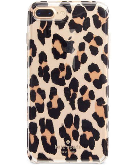 Mk Newyork Gold Leopard kate spade new york leopard clear iphone 7 handbags