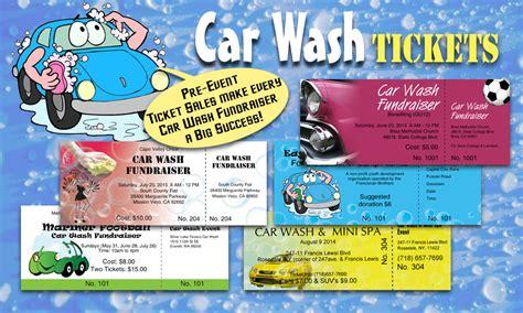 car wash tickets best ticket printing