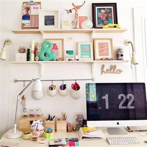 my cute office feminine style home office decor decorazilla design blog