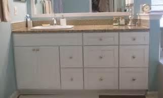 Shaker bathroom vanities rta kitchen cabinets amp bathroom vanity