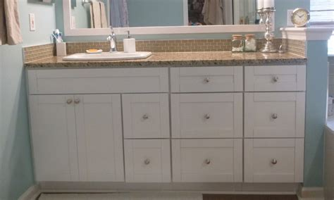 Shaker Style Bathroom Furniture Traditional White Shaker Bathroom Vanities Rta Cabinet Store
