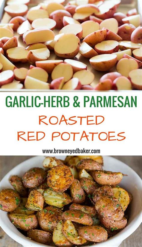 8 Awesome Potato Recipes To Try by Garlic Herb Parmesan Roasted Potatoes Recipe On