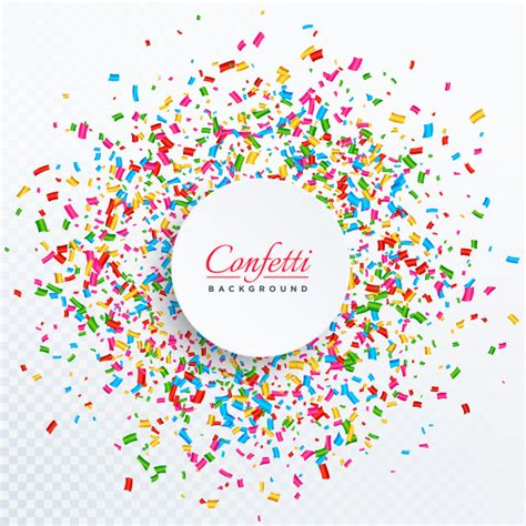 new year vector ai confetti background with text space design vector free