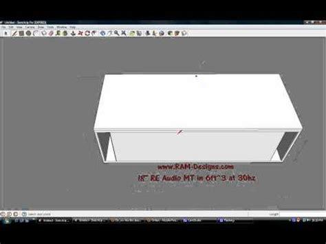 ram designs ram designs re audio mt 18 quot ported sub box design