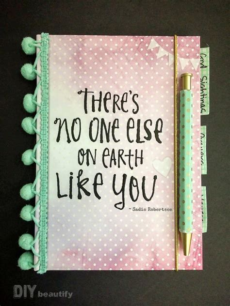 ways to design your journal decorate a notebook for a teen girl great gift idea