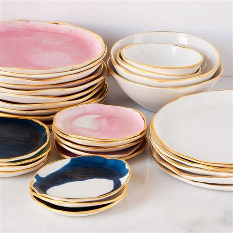 christmas ceramic plates
