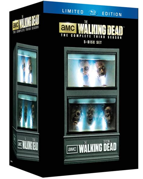 We Are The Walking Dead Sweepstakes - win the walking dead limited edition season 3 blu ray box sets