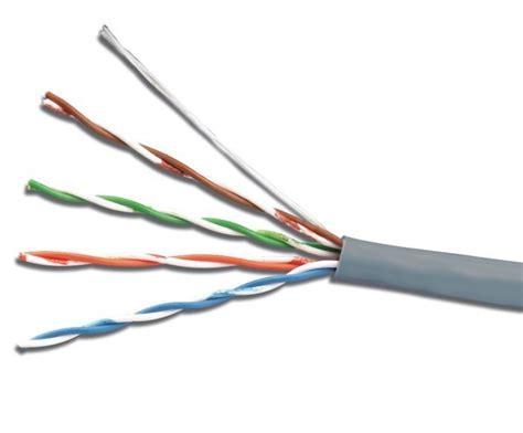Vascolink Cable Utp Cat 5e Utp Kabel Lan Cat 5e Cca Cat5e visualarm equipos de seguridad electronica 187 cables utp cat 5e rollos 305m