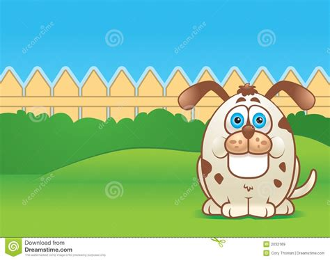 backyard clip art dog in a yard royalty free stock images image 2032169