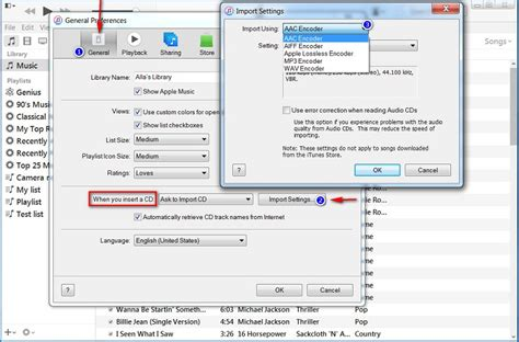 Sleting Import how to import cd tracks to itunes