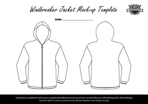 design jacket template design your own custom windbreaker jacket with your