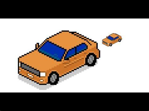 pixel art car isometric car pixel art in hangouts youtube